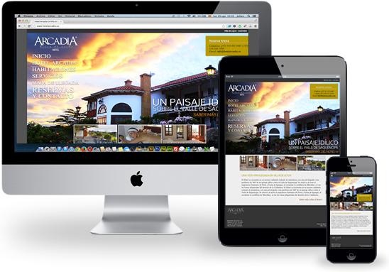 Dise o sitio web pyme dise o p ginas web y publicidad en for Paginas web de arquitectura